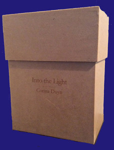 Care box version of Into the Light from Corina Duyn's book shop