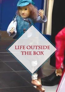 cover of Life Outside the Box, from Corina Duyn's book shop